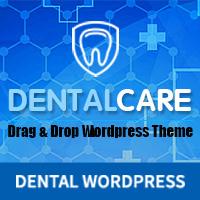 Dentist - Dental One Page WordPress Theme