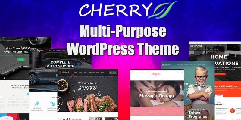Cherry - Multi Purpose WordPress Theme
