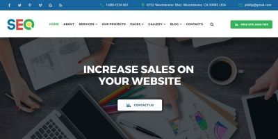 SEO - SEO And Digital Marketing Agency Template