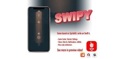 Swipy - iOS Game Source Code