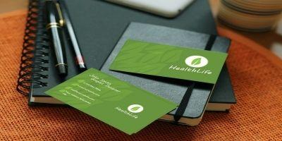 HealthLife Business Card Template