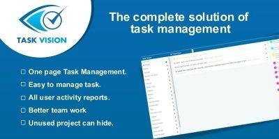 Task Vision - Task manager PHP Script