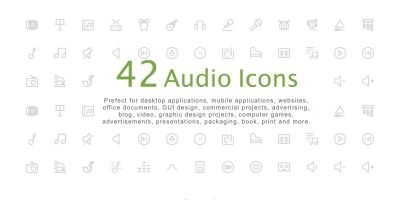 Audio Icon Pack