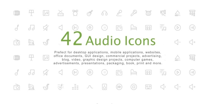 Audio Icon Pack