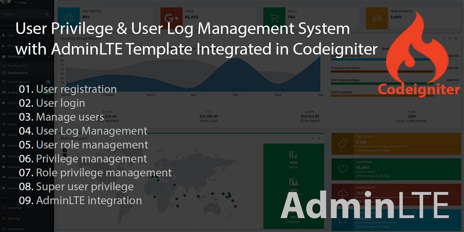 Codeigniter User Management System