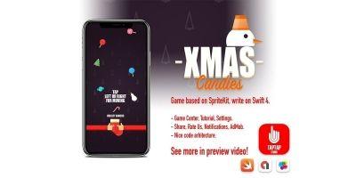 Xmas Candies - iOS Source Code