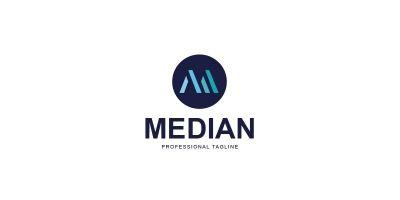 Median Logo Design