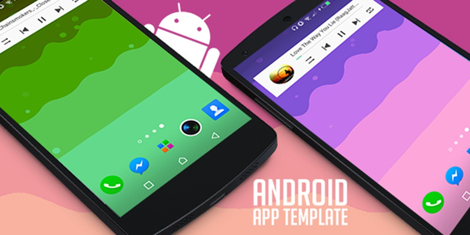 Wavie - Music Live Wallpaper Android Template