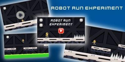 Robot Run Experiment - Unity Source Code
