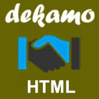 Dekamo - Responsive Multipurpose Business Template