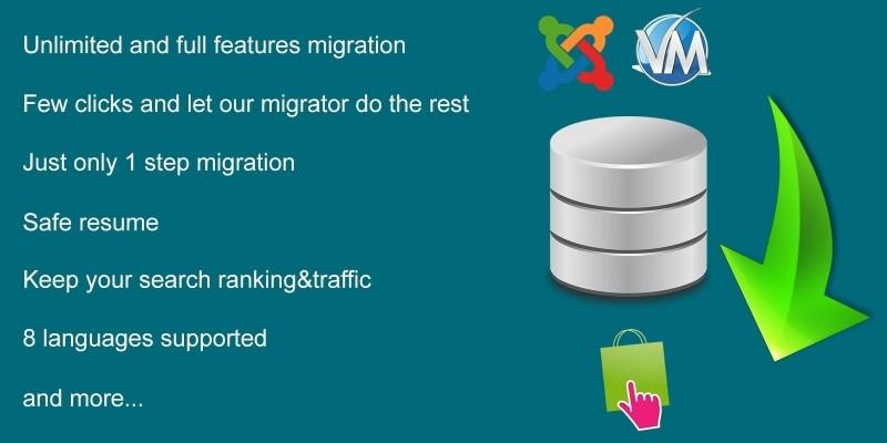 Database Migration from Virtuemart to PrestaShop