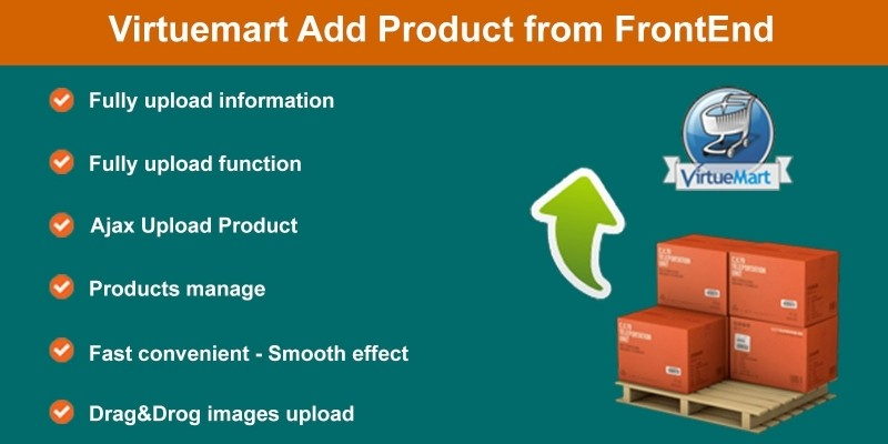 Virtuemart Add Product From FrontEnd