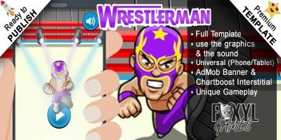 Wrestlerman - Buildbox Template