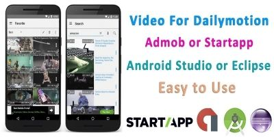 Video For Dailymotion - Android Source Code