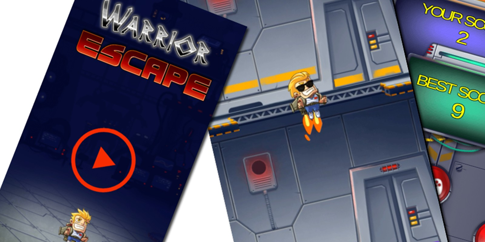 Warrior Escape Unity Complete Project