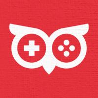 Owl Gamer Logo Template