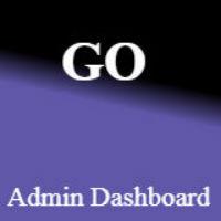 Go - Admin Dashboard Template