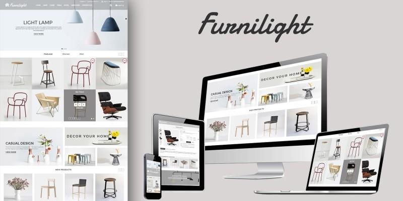 Furniture Light PrestaShop Theme