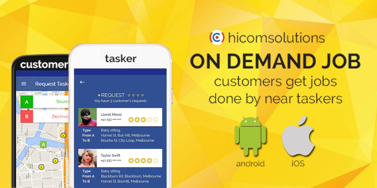 On Demand Job - iOS App Template