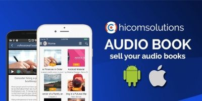 Audio Book Store - iOS App Template