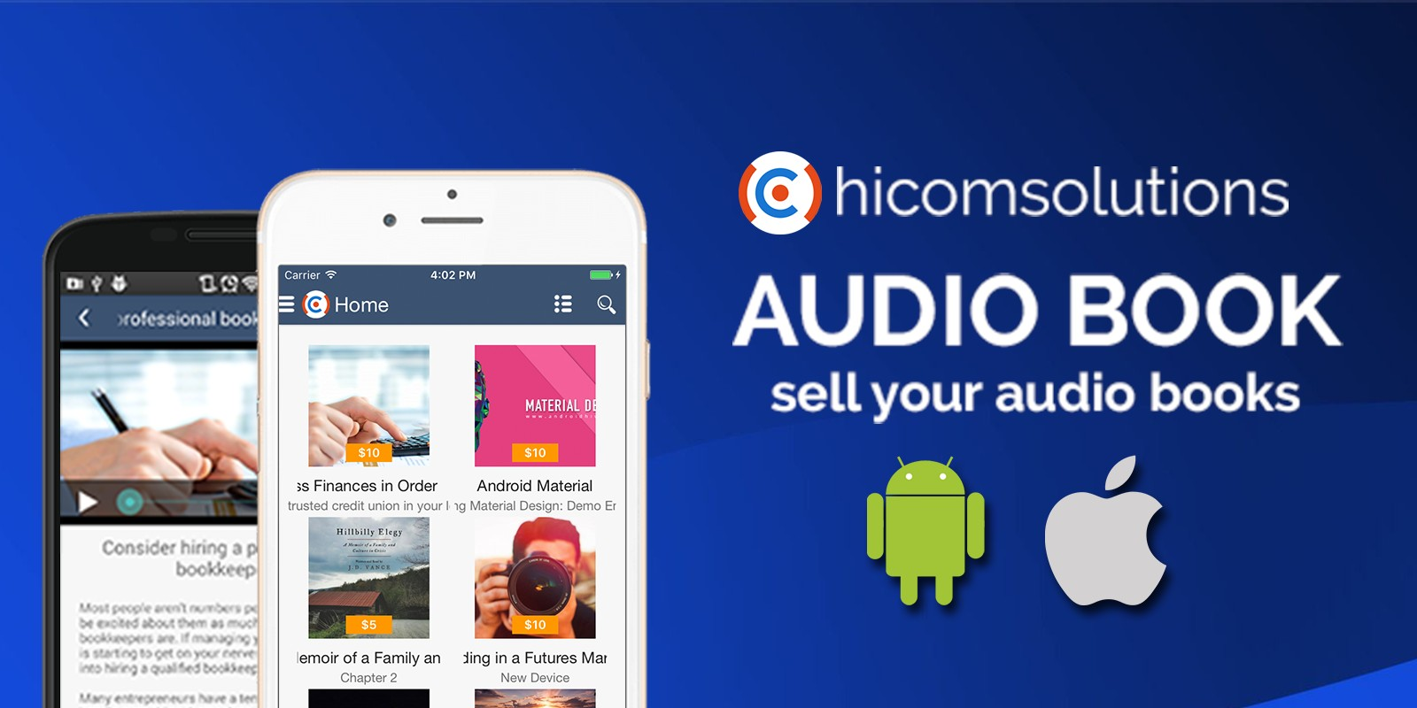 Audio Book Store - Android App Template