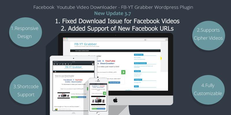 Facebook Youtube Video Downloader - WP Plugin