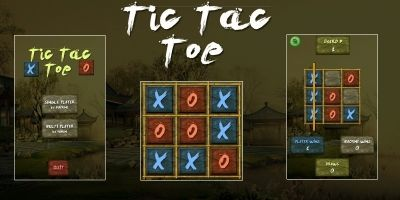 Tic Tac Toe Ninja - Unity3D Source Code with ADMOB
