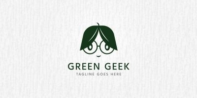 Green Geek - Logo Template