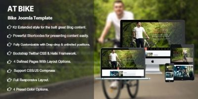 AT Bike -  Responsive Bike Joomla Template