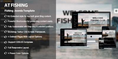 AT Fishing - Responsive Fishing Joomla Template