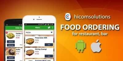Food Ordering - Android Source Code