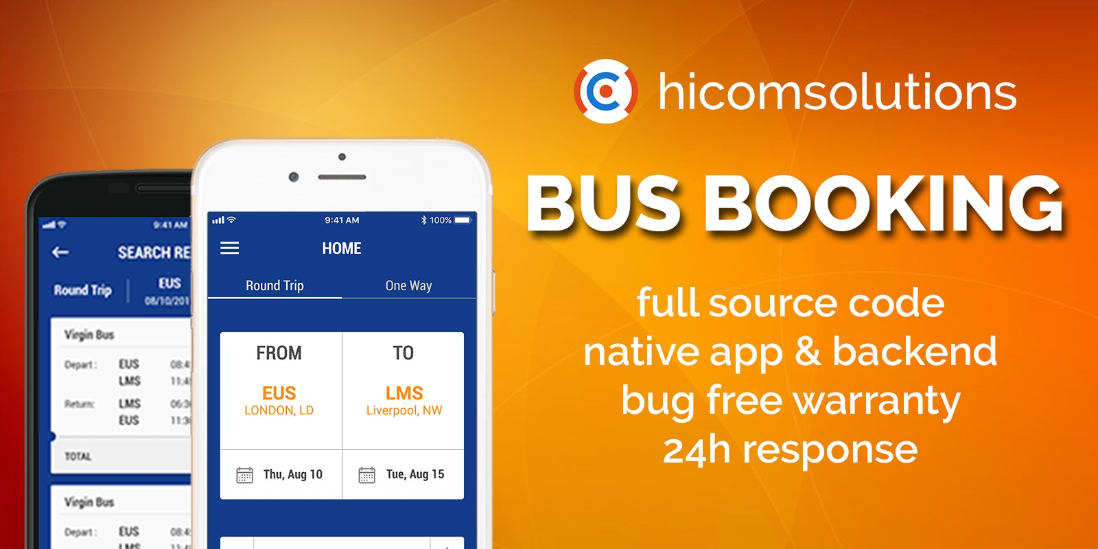 Bus Ticket Booking - iOS Source Code