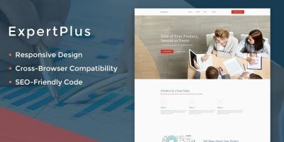 ExpertPlus Consulting  HTML Theme