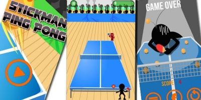 Stick Man Ping Pong Unity Complete Project