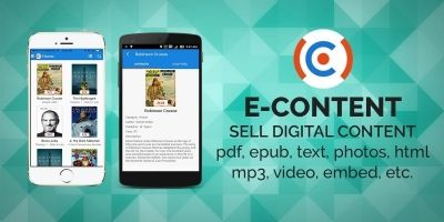 E-Content - iOS Source Code