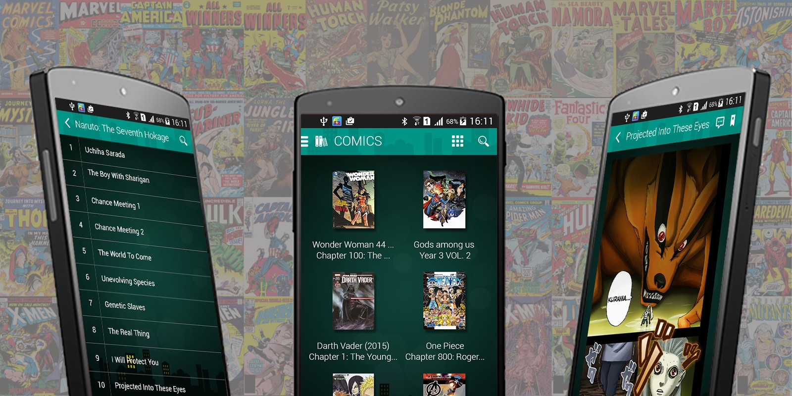 Comic -  Android App Source Code