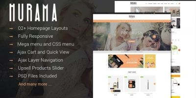 SM Hurama - Customizable Magento Theme