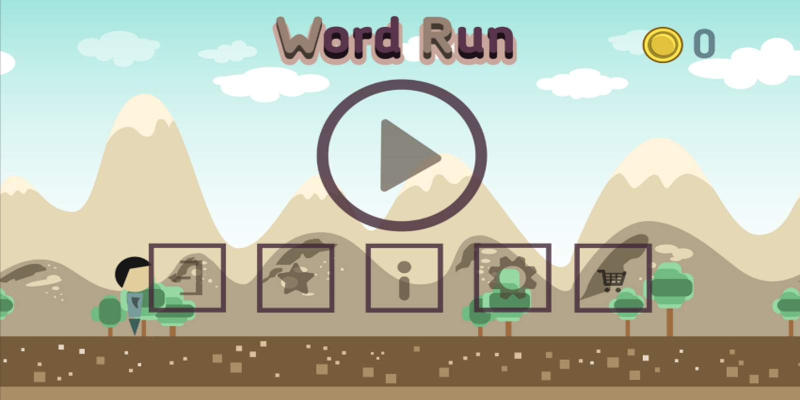Word Run Hero - Unity Source Code
