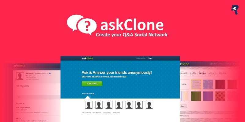 AskClone - Anonymous Q&A Social Network