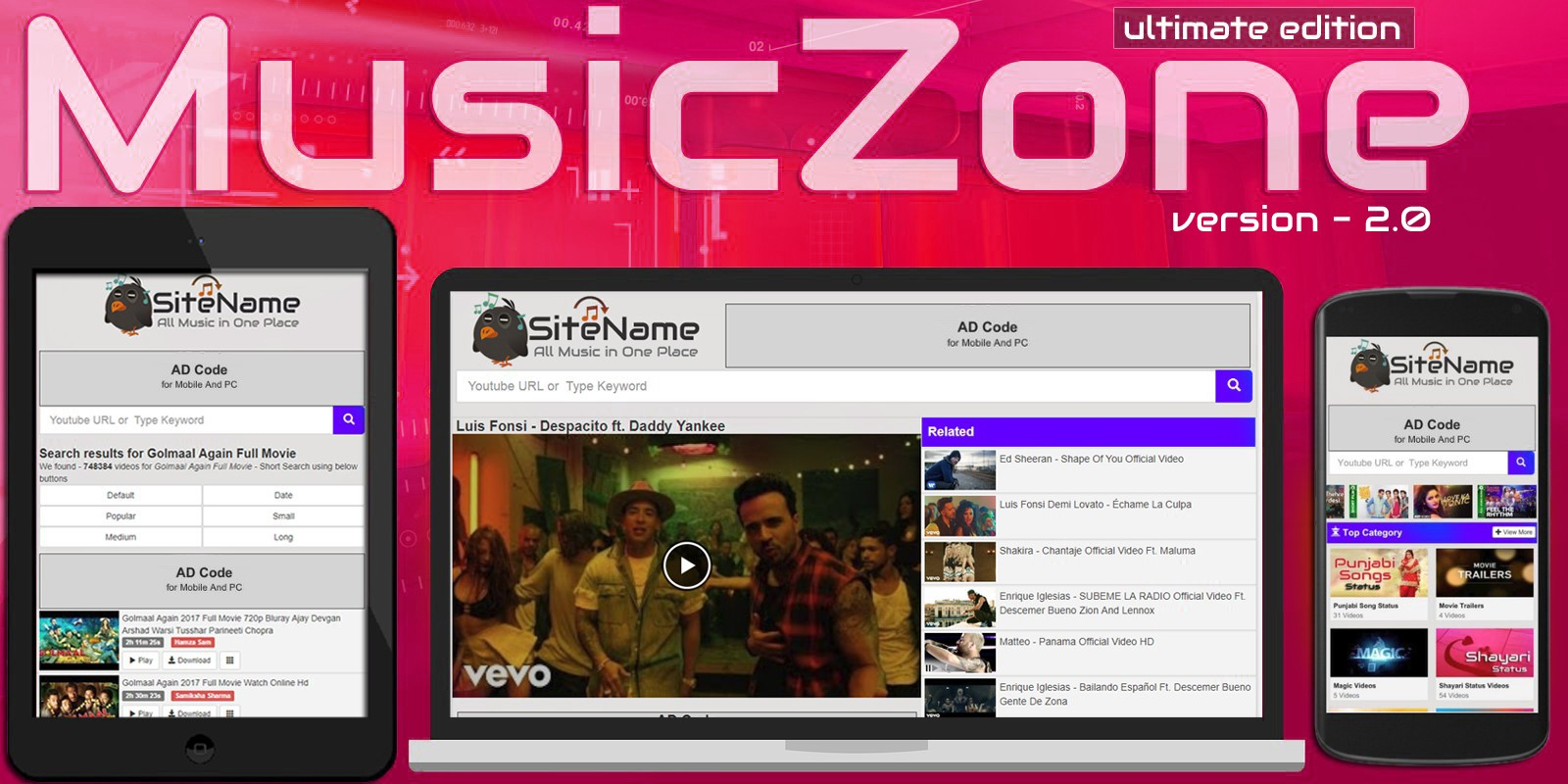 MusicZone Youtube Mp3 And Video Downloader
