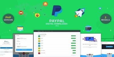PayPal Digital Downloads - PHP Script