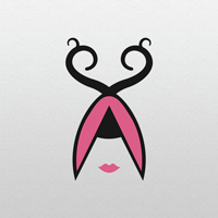 Haircut Girl - Logo Template