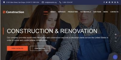 Construction - Construction Web Template