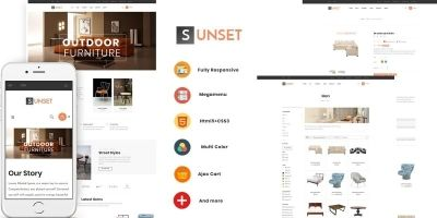 Ap Sunset - PrestaShop Theme