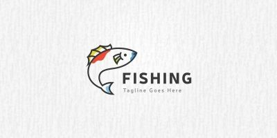 Fishing - Logo Template