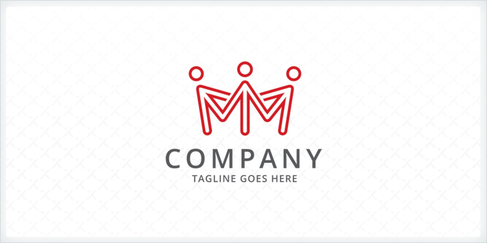 People Crown - Logo Template