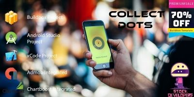 Collect Dots - Buildbox Template