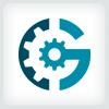 letter-g-gear-logo-template