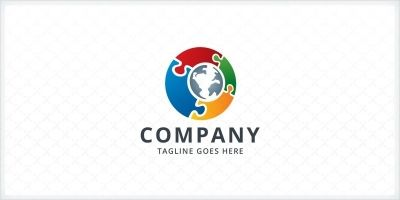 Global Connect - Logo Template