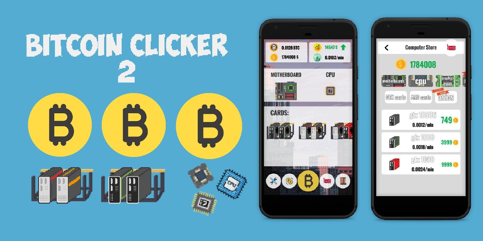 Bitcoin Clicker - Unity Source Code